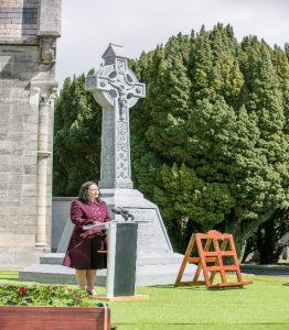 Minister Martin speaking
